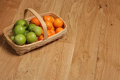 150mm Oak 'full plank' Nature eng.